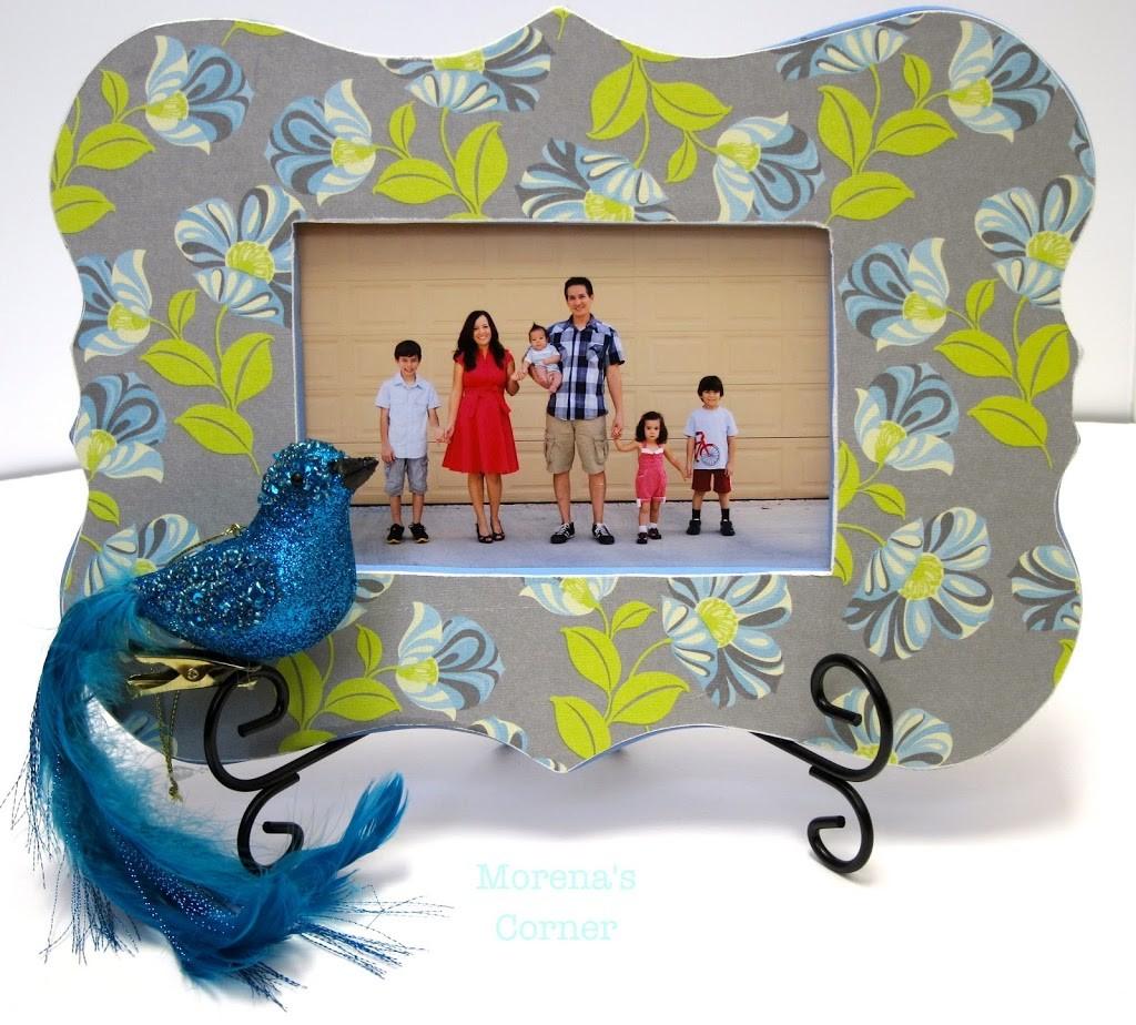 Embellished Wood Frames, part 1 - Morena\'s Corner