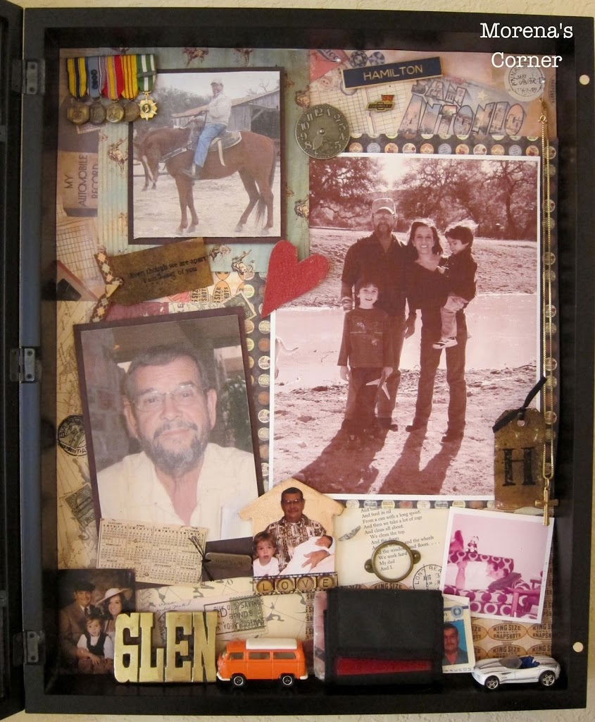 Tips For Creating A Memorial Shadow Box Morena S Corner