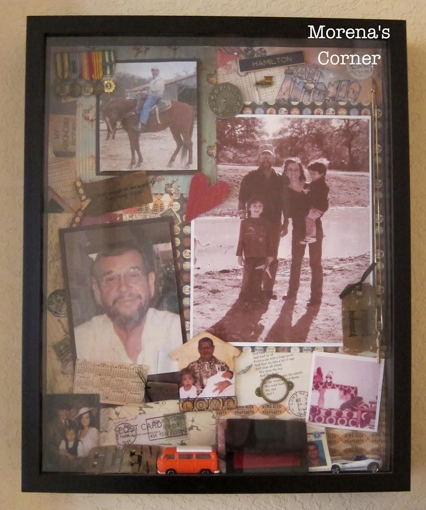 Tips for Creating a Memorial Shadow Box - Morena's Corner