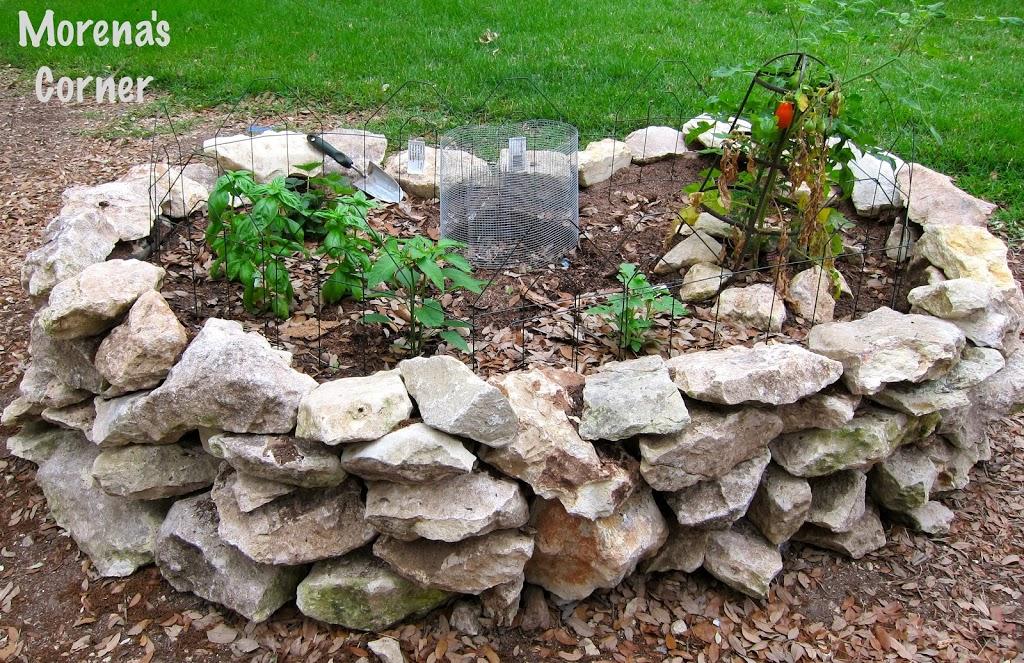Building a keyhole garden morena 39 s corner for Keyhole garden designs