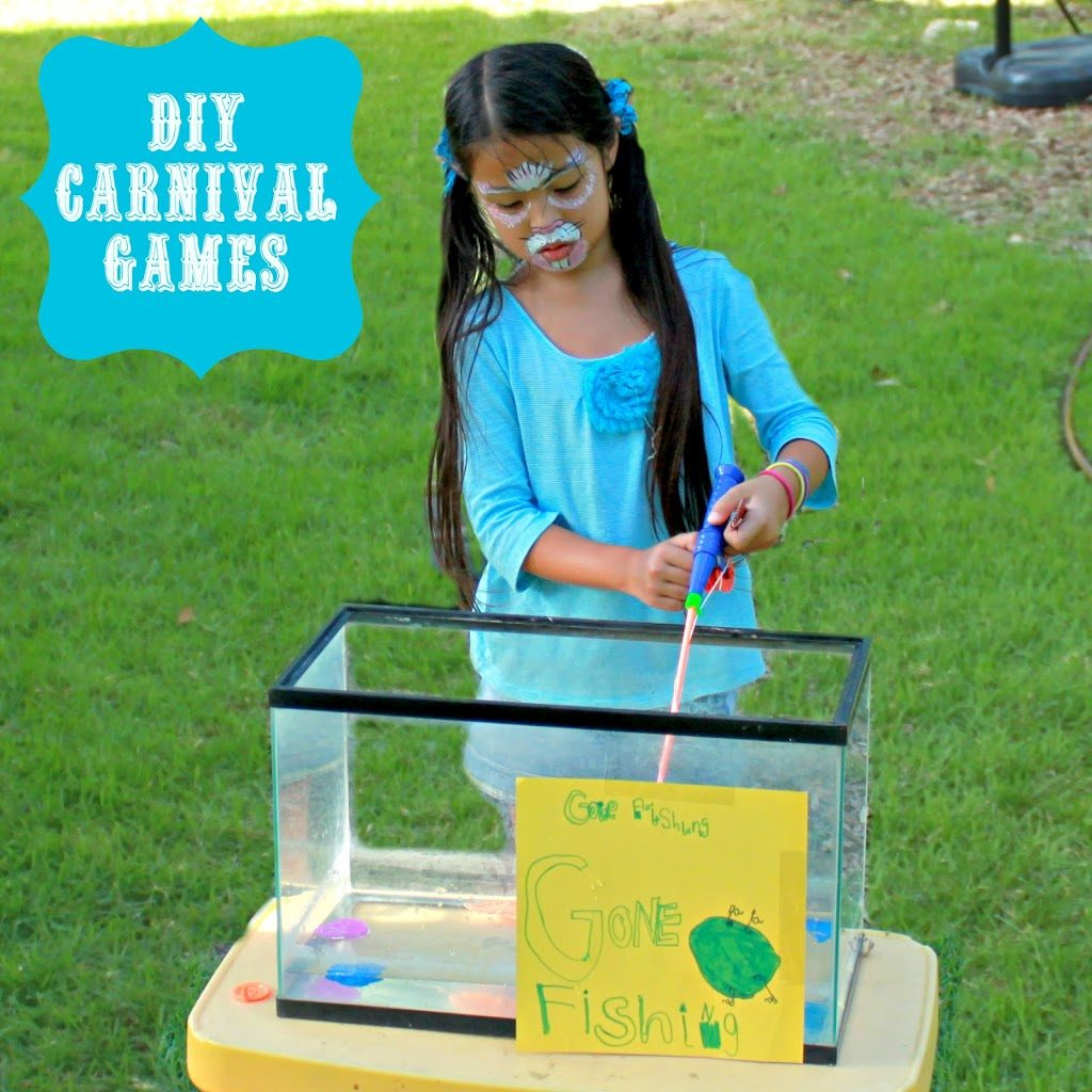 backyard ideas make your own carnival games