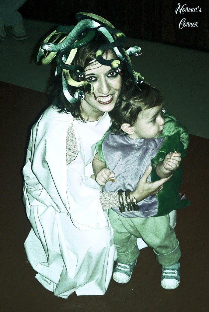 Make your own Medusa costume. Use dollar store items to make this unique costume that will turn heads wherever you go on Halloween.
