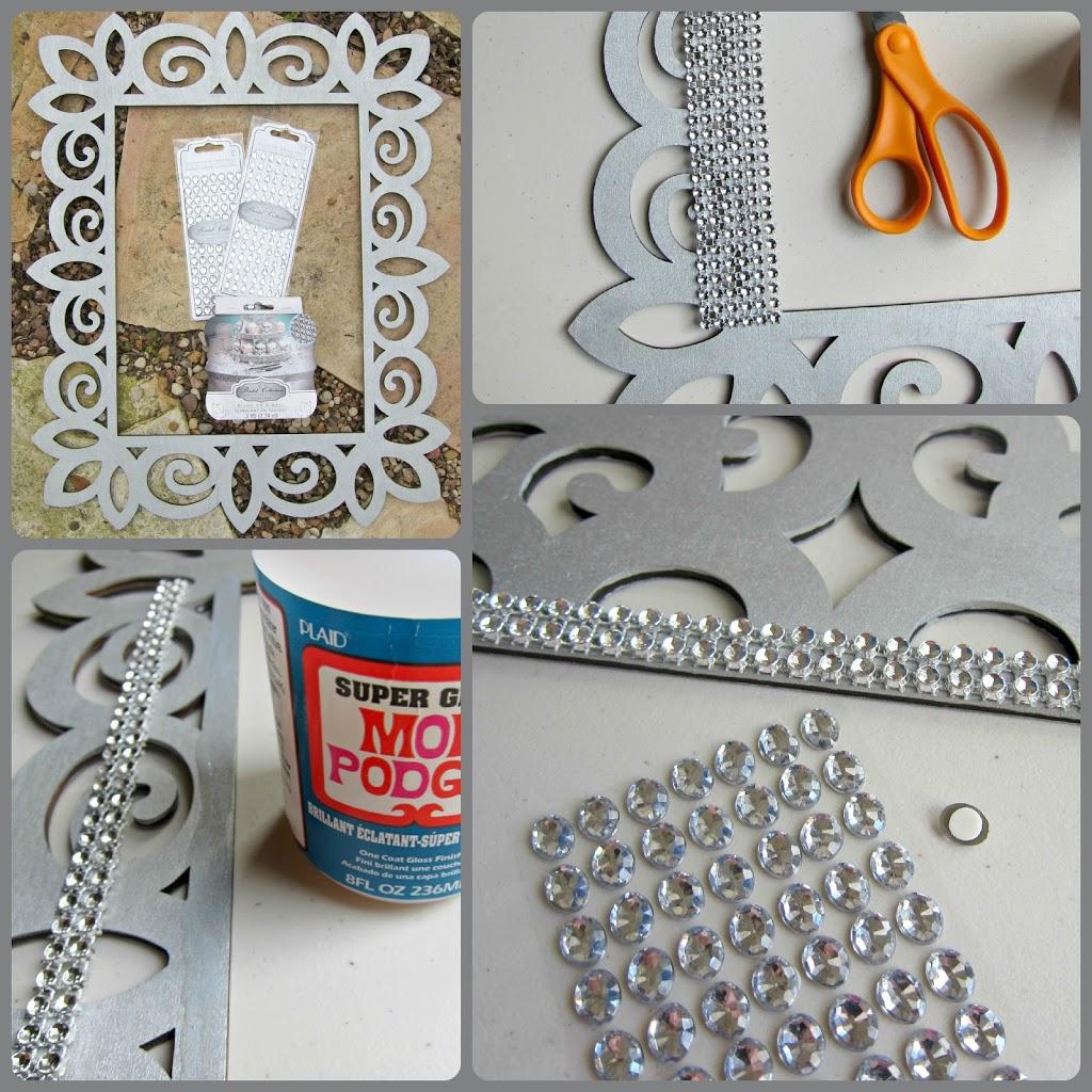 DIY Wedding Photo Booth Props: Frames
