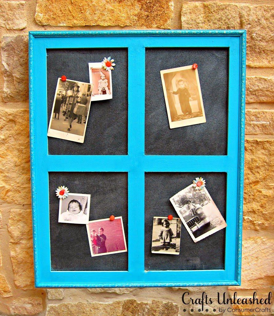 Build Your Own Window Frame Cork Board Morenas Corner
