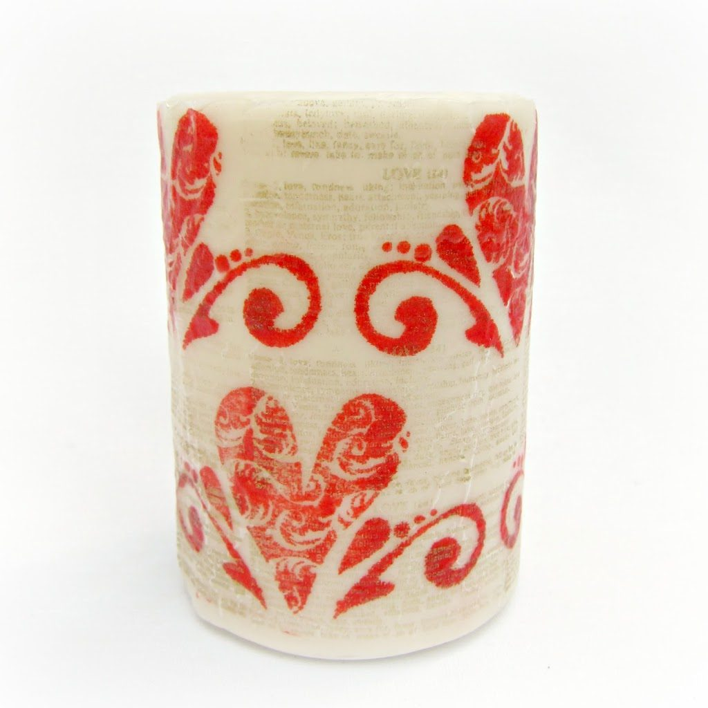 Valentine-Stamped-Candle