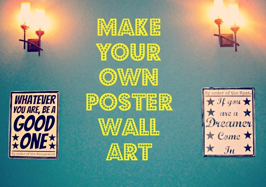make-your-own-wall-art - Morena\'s Corner