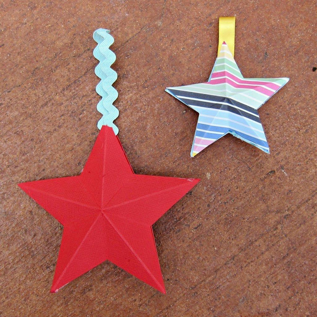 3D-Paper-Stars