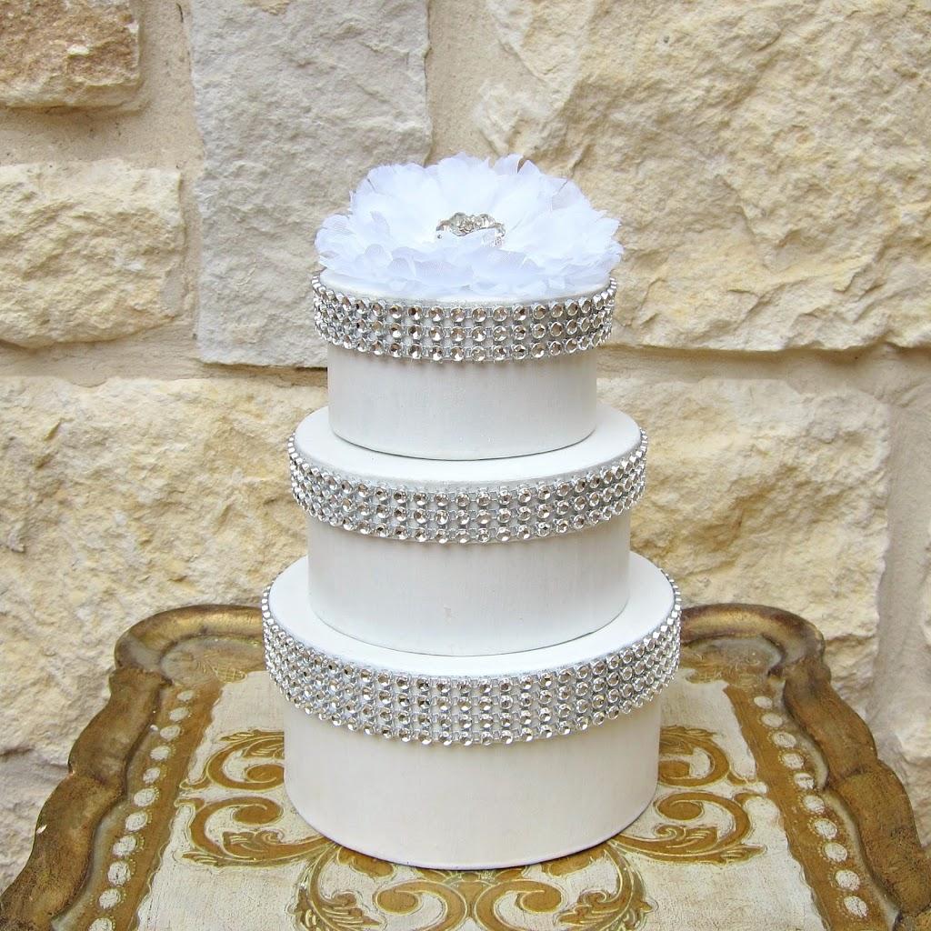 Wedding Cake Favor Boxes Morenas Corner