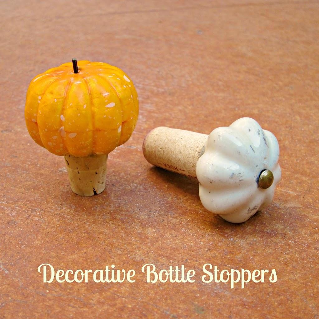 Decorative Wine Bottle Stoppers: DIY Decorative Bottle Stopper