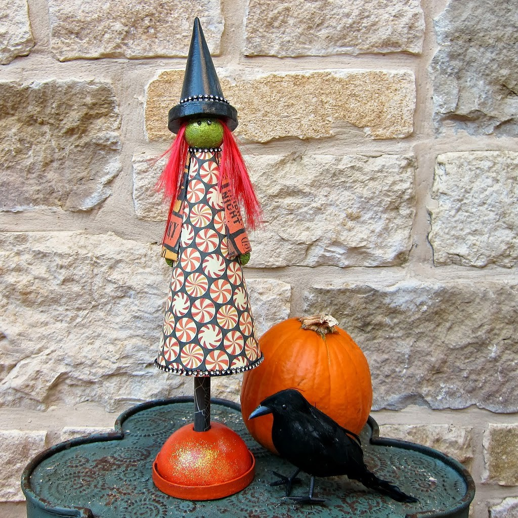 DIY-Cute-Halloween-Witch