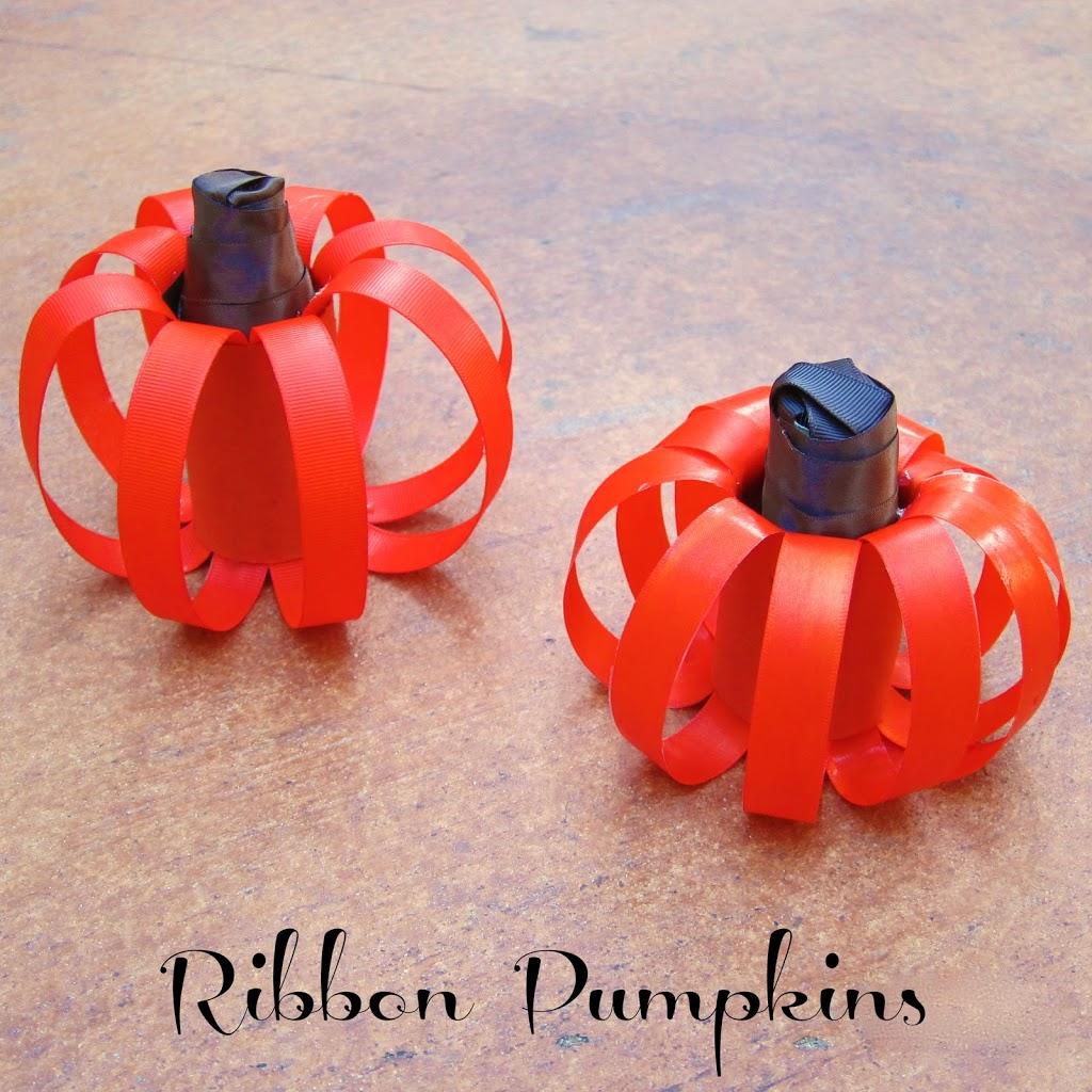 make-ribbon-pumpkins
