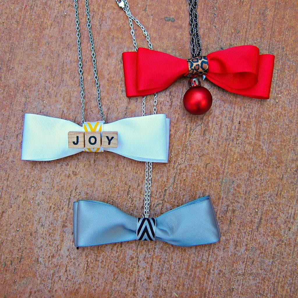 Bow-Tie-Necklaces-DIY