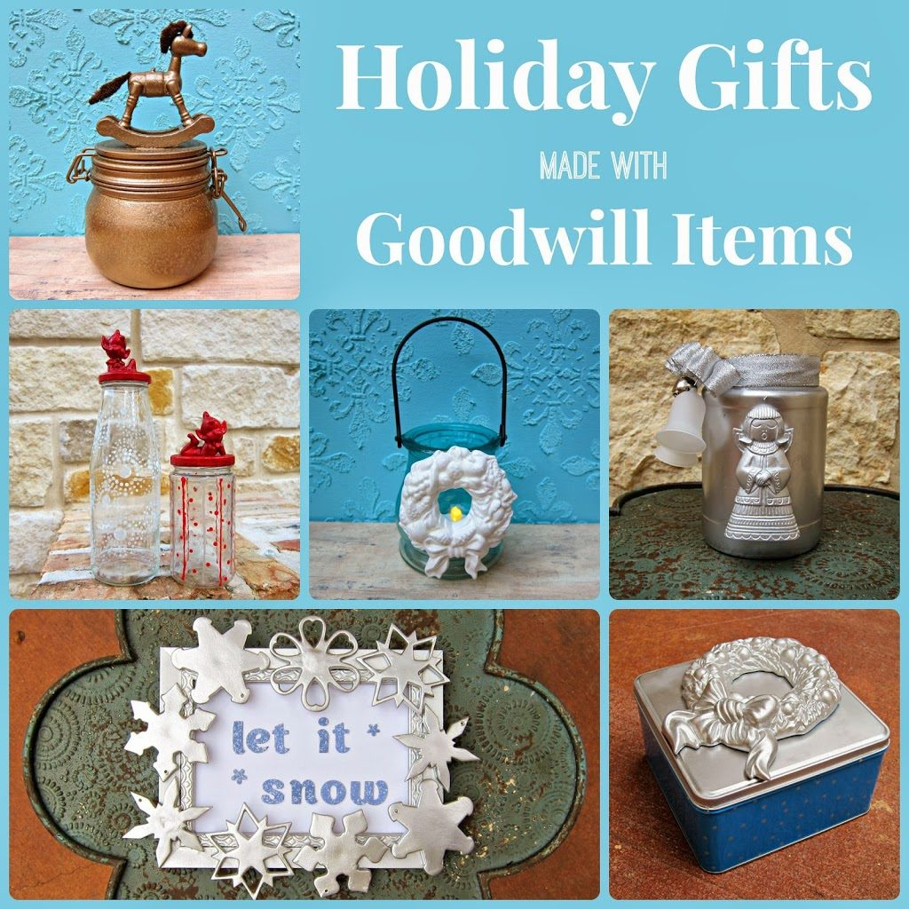 Crafting Christmas Gifts with Goodwill Finds - Morena\'s Corner
