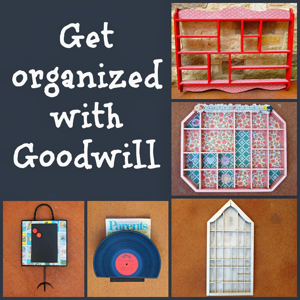 get organized with diy projects and goodwill morena 39 s corner. Black Bedroom Furniture Sets. Home Design Ideas