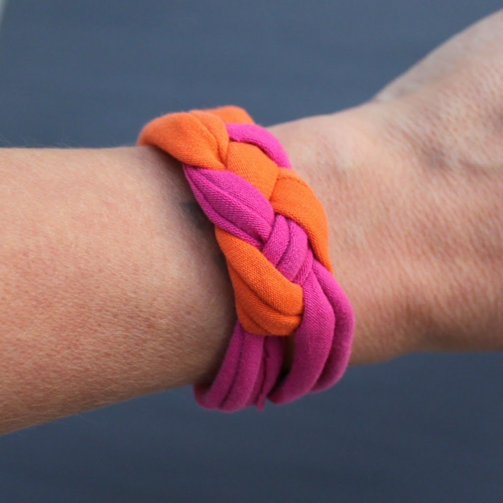 Knotted Bracelets Made From Recycled Clothing Morena S Corner