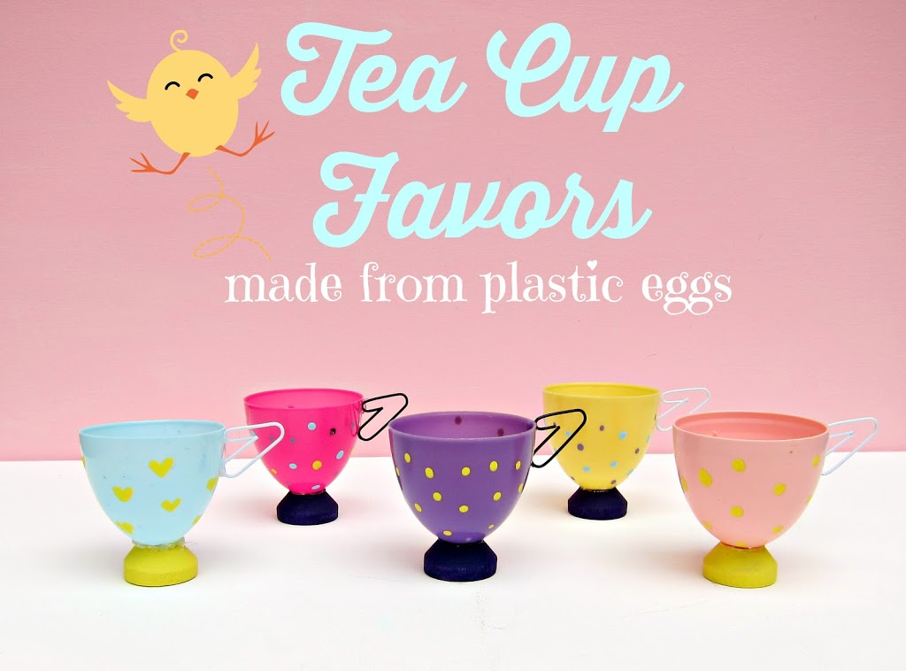 Easter Egg Tea Cup Party Favor