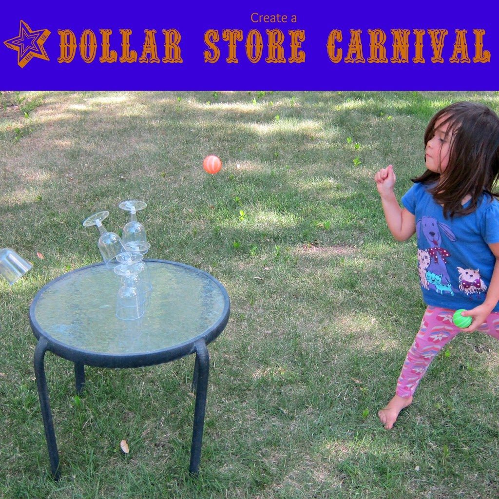 DIY Dollar Store Carnival Games