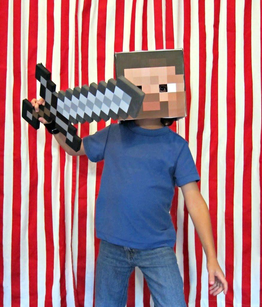 sc 1 st  Morenau0027s Corner & 88+ DIY Costumes including Minecraft Steve - Morenau0027s Corner