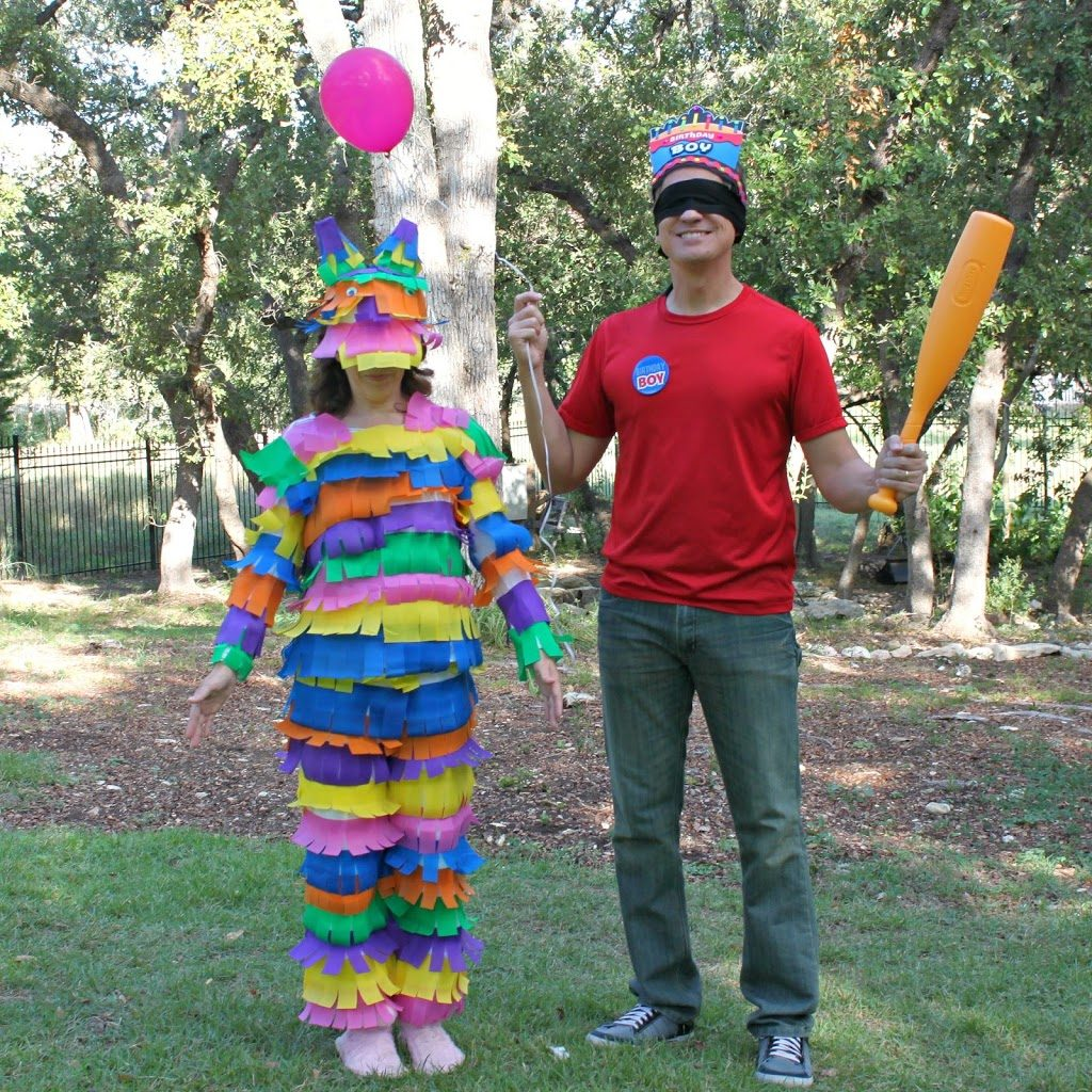 DIY Couples Costumes: Piñata And Birthday Boy
