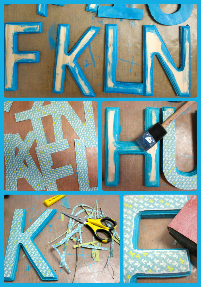 DIY Word Art Tutorial at Crafts Unleashed