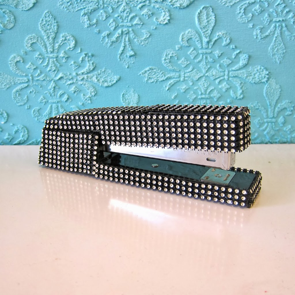How To Bling Out Office Supplies