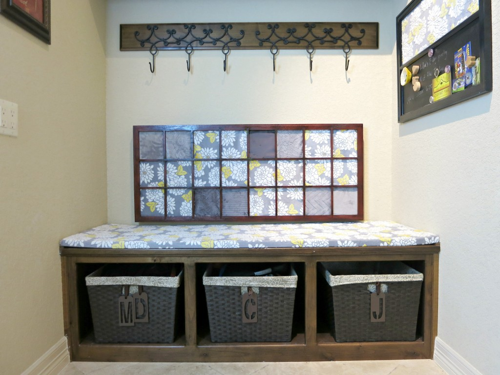 mud room makeover 2