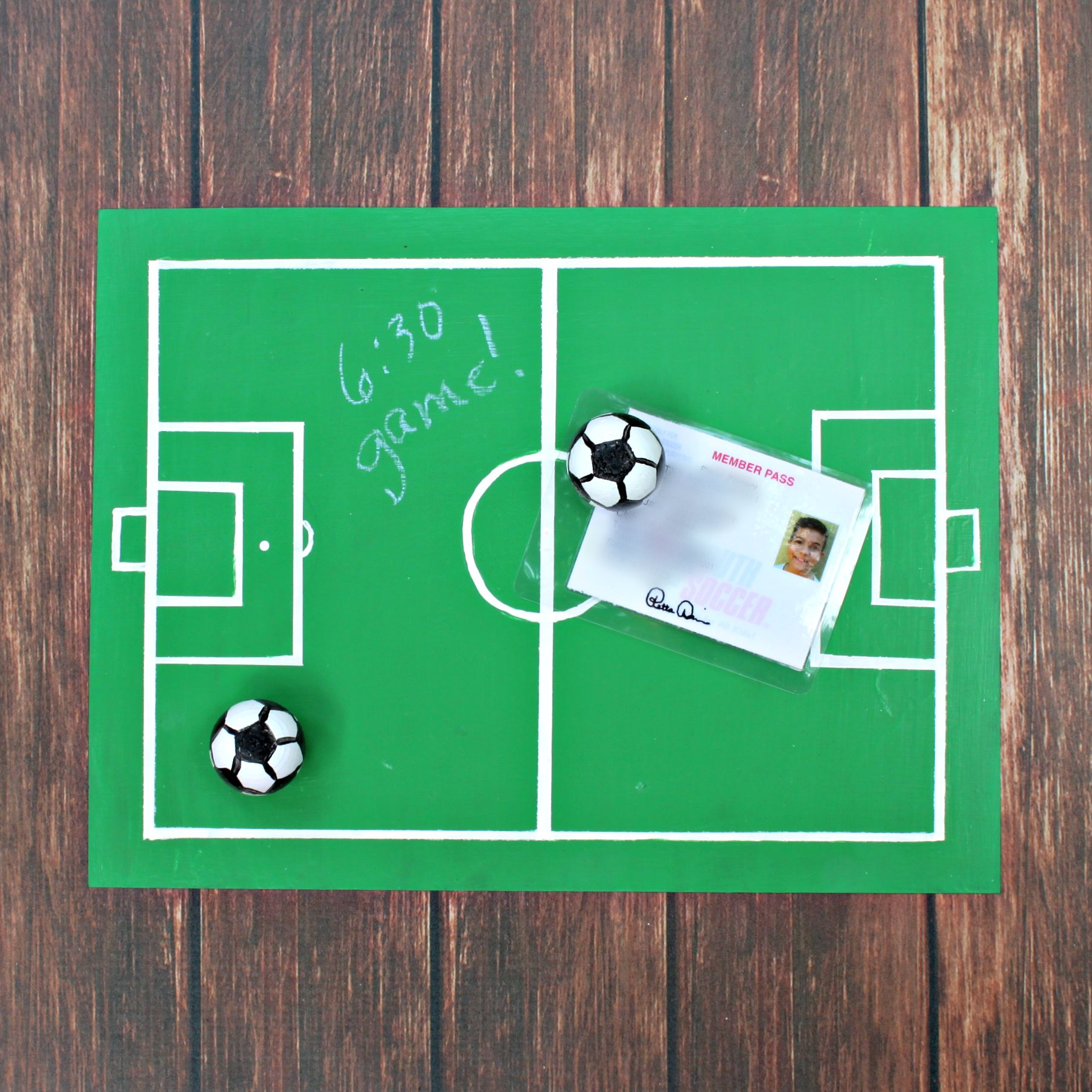 soccer board game ideas - Soccer Valentine Box