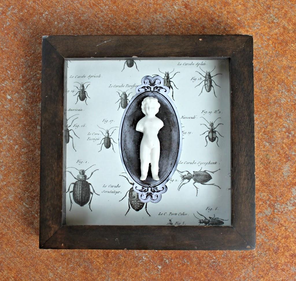 Diy Spooky Shadow Box Decor For Halloween Morena S Corner