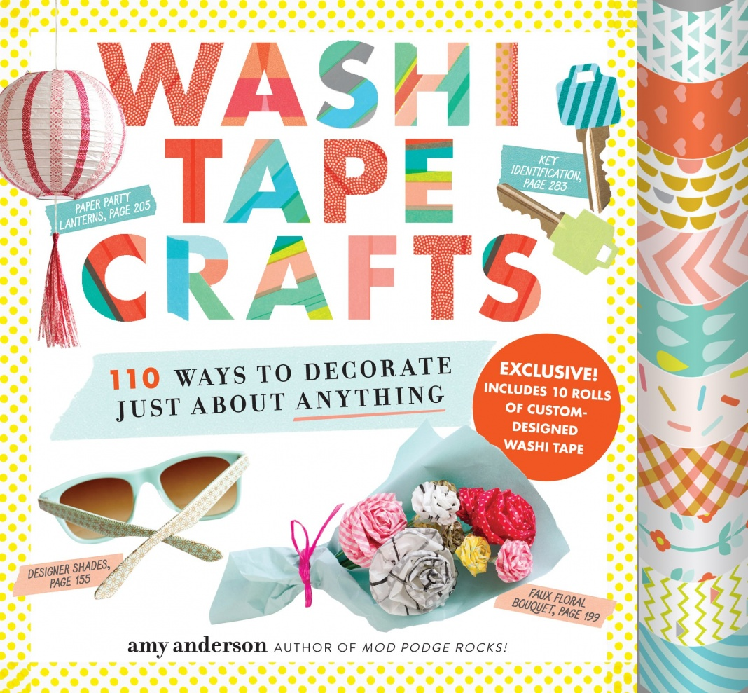 Washi tape crafts win a copy morena 39 s corner for What can you do with washi tape
