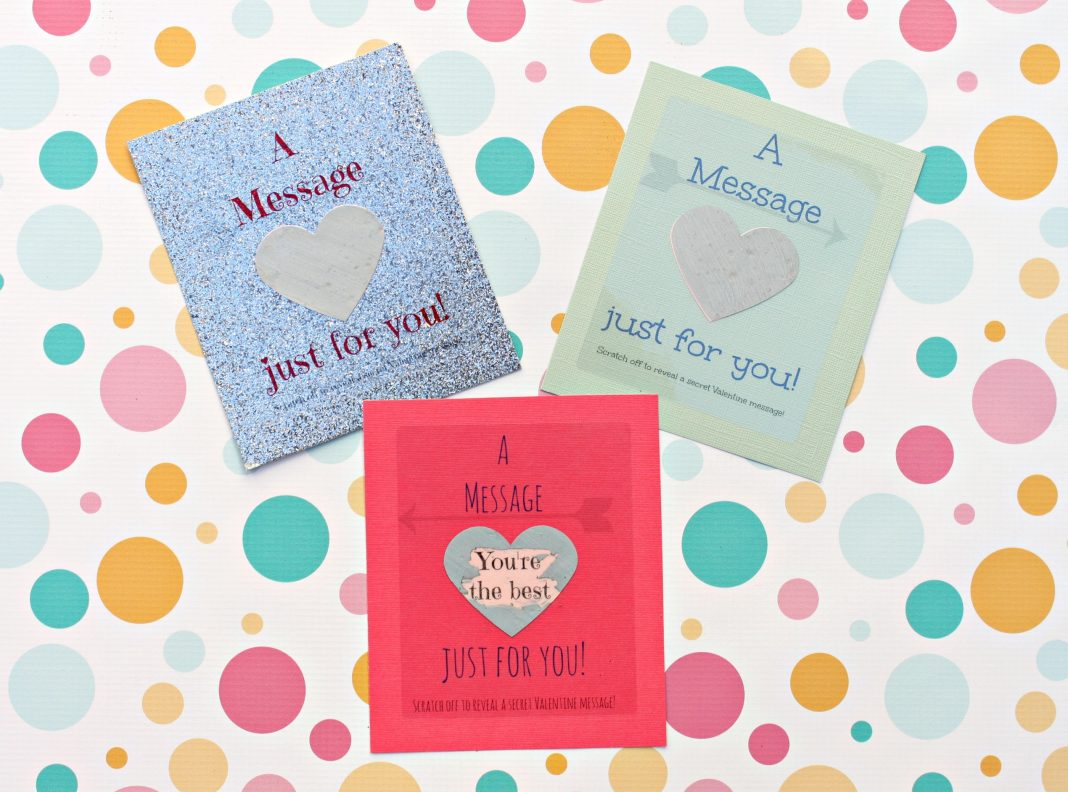 Make Scratch Off Valentine Cards Morena S Corner