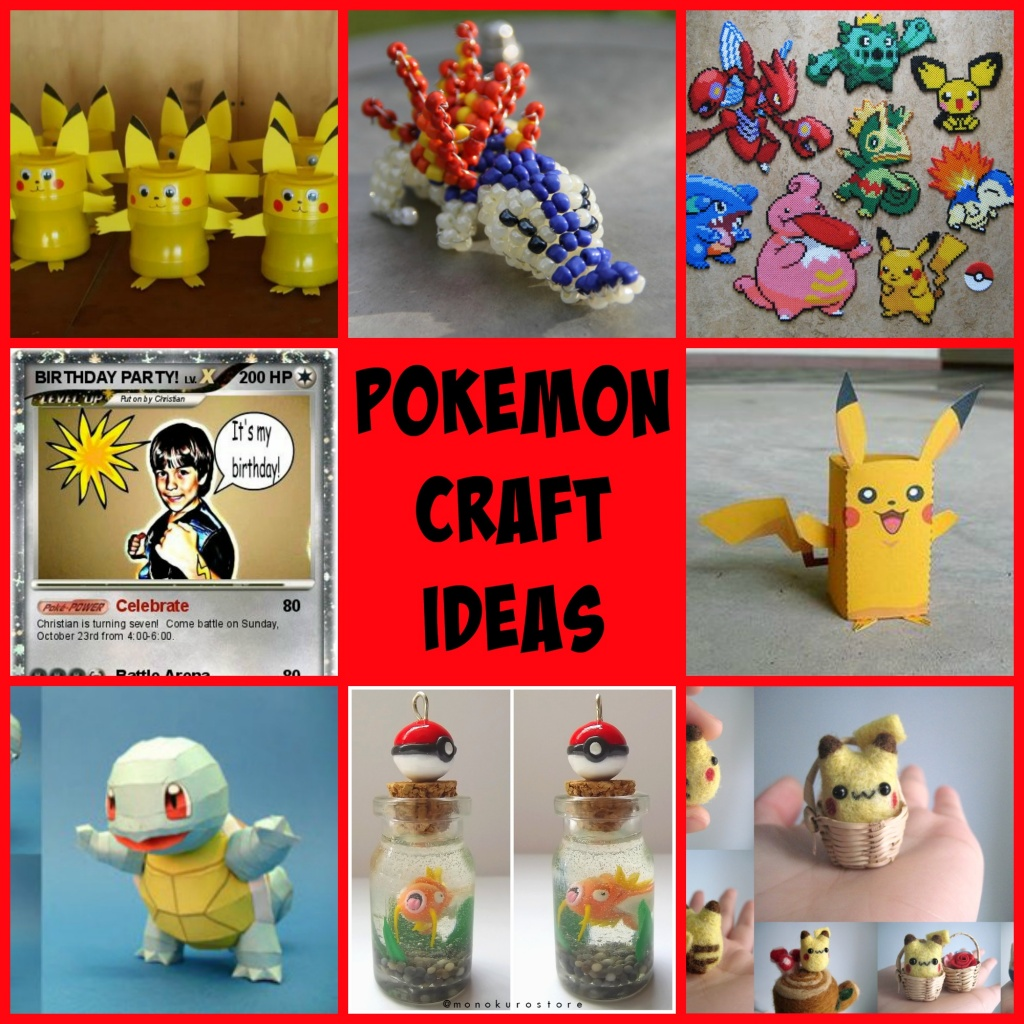 Pokemon Go! Craft Ideas