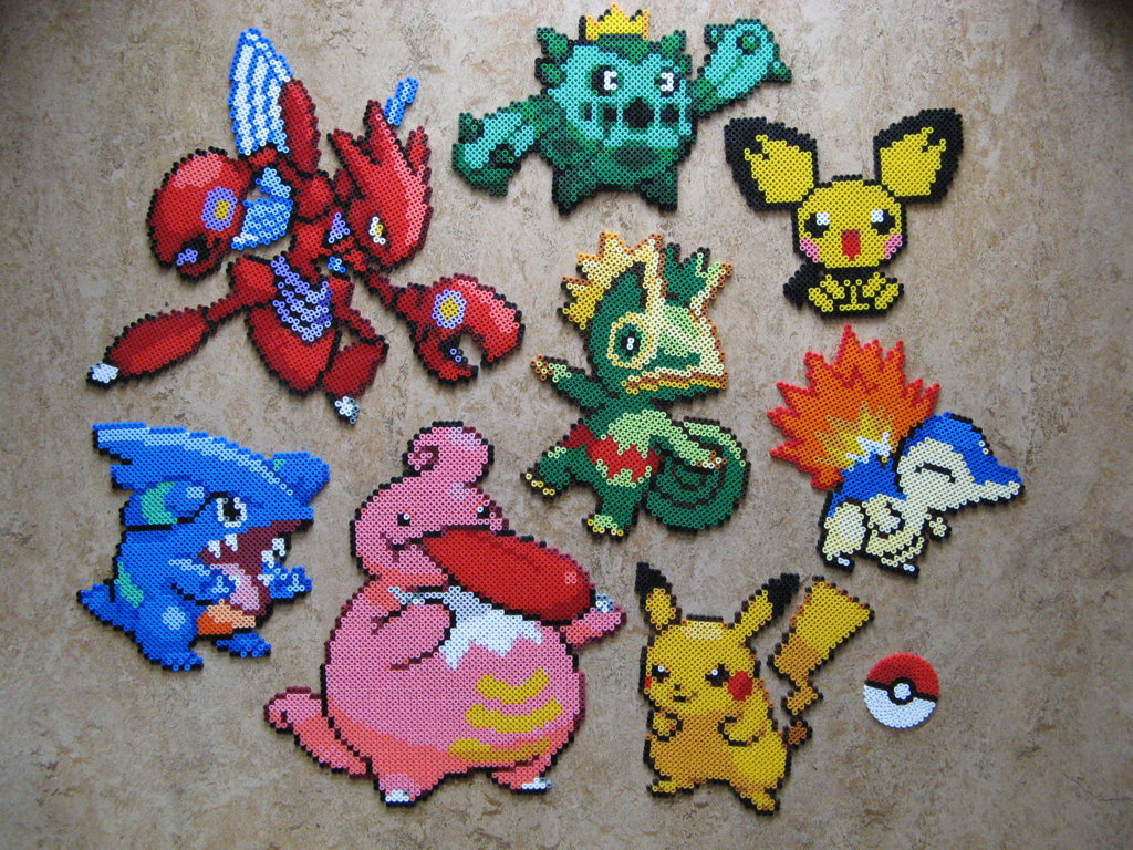 Pokemon go craft ideas you can make morena 39 s corner for Bead craft ideas for kids
