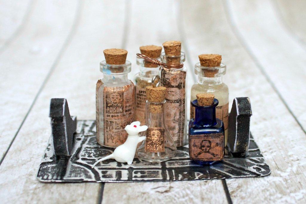 Tiny Poison Bottle Vignette DIY - Page 3 of 3 - Morena's ...