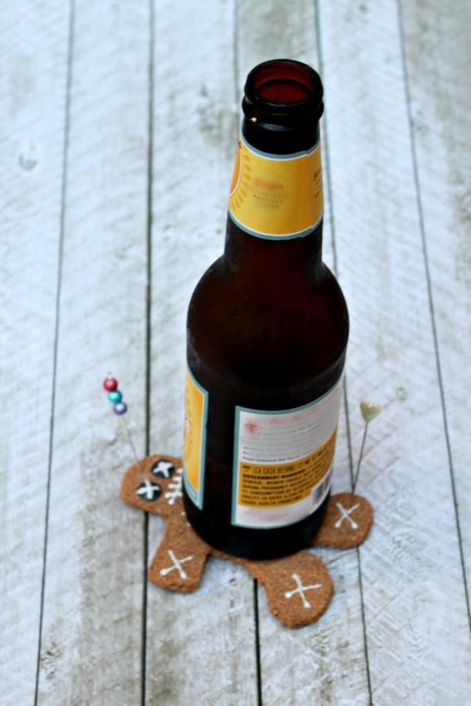 voodoo doll coaster DIY