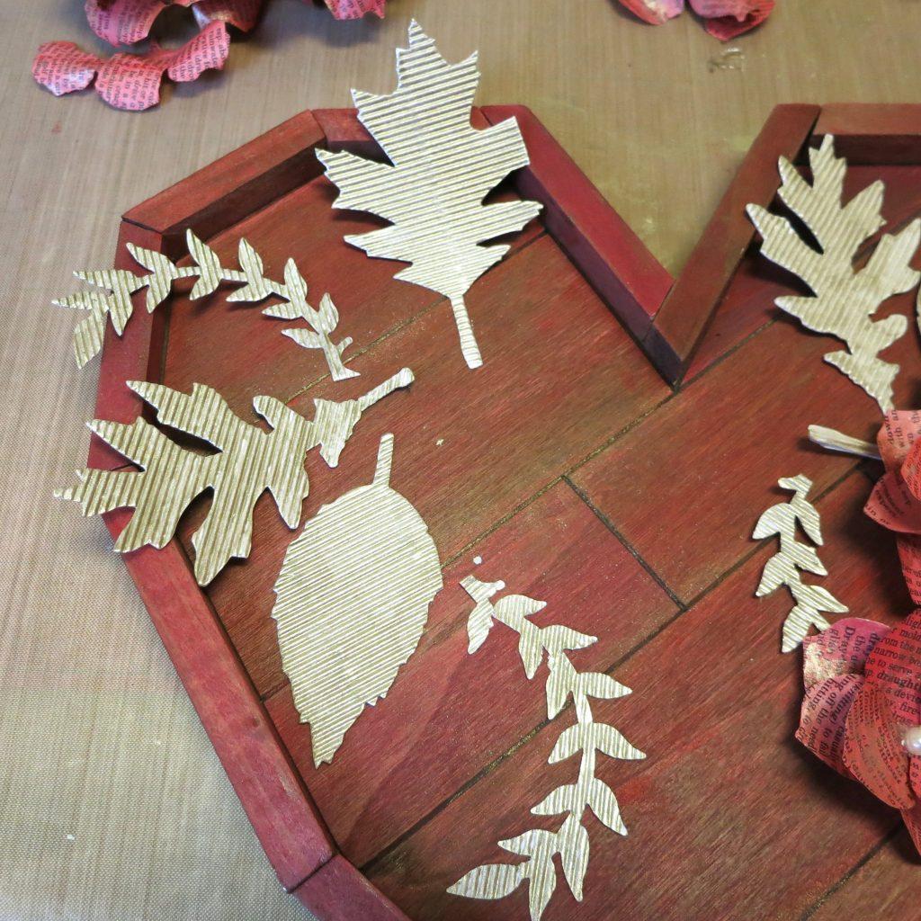 glue leaves