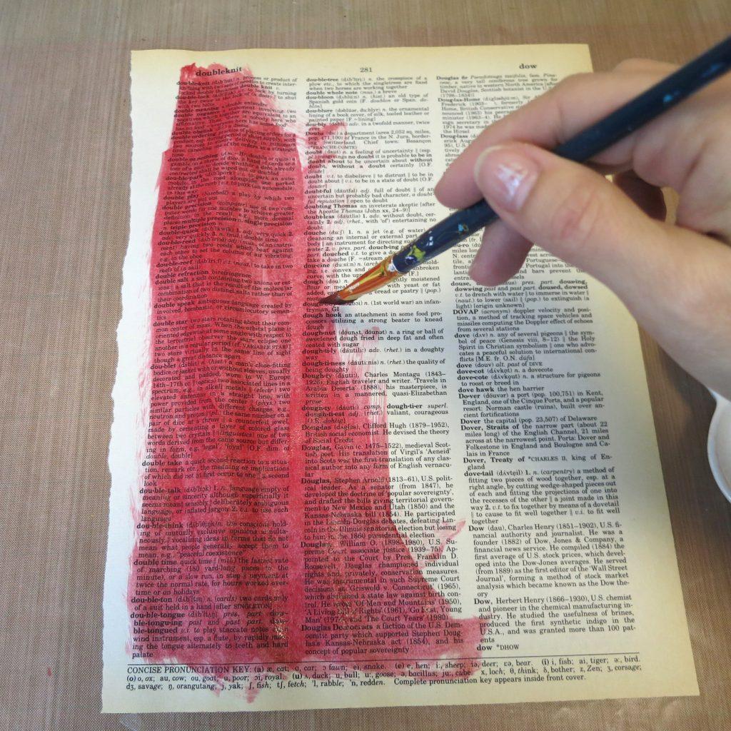 paint paper