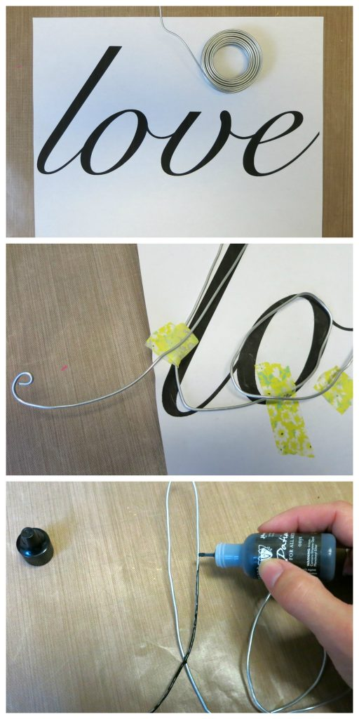 wire word step 1