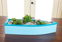 Boat Planter DIY: Nautical Decor Tutorial