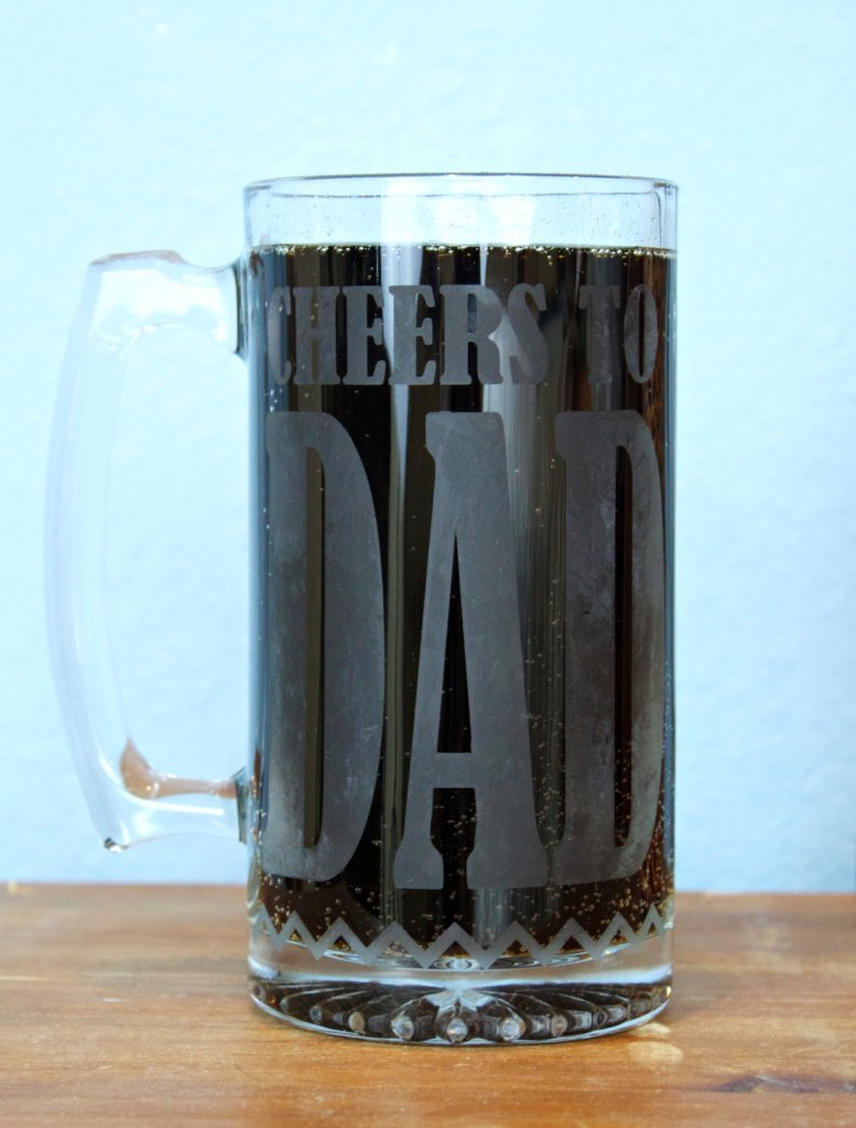 Etched Glass Diy Gifts To Make For Dad Morena S Corner