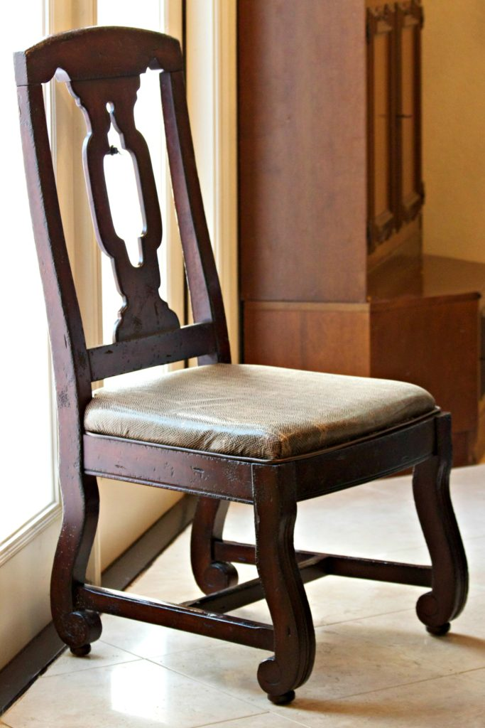Chair Repair: Learn How To Recover A Broken Dining Room Seat