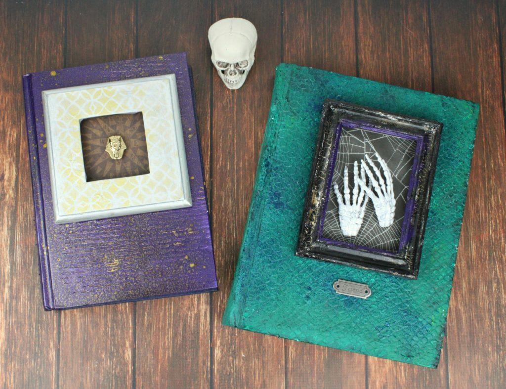 Altered Books For Halloween Decor Morena S Corner