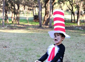 Cat in the Hat Costume Tutorial