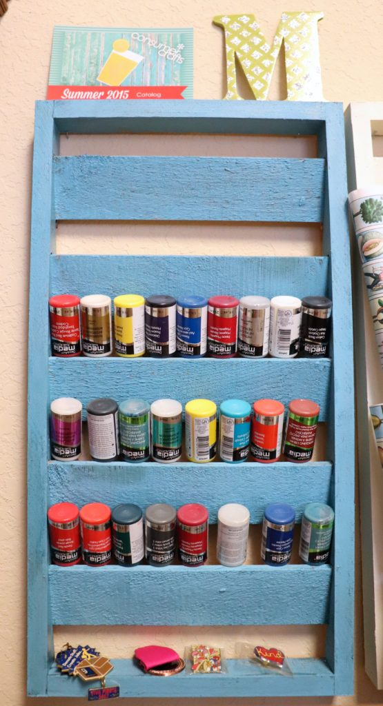 Craft room organization on a budget morena 39 s corner - Supplies needed to paint a room ...
