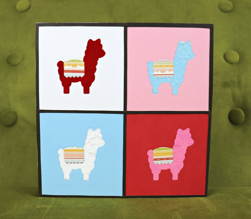 Make Llama Pop Art Wall Decor