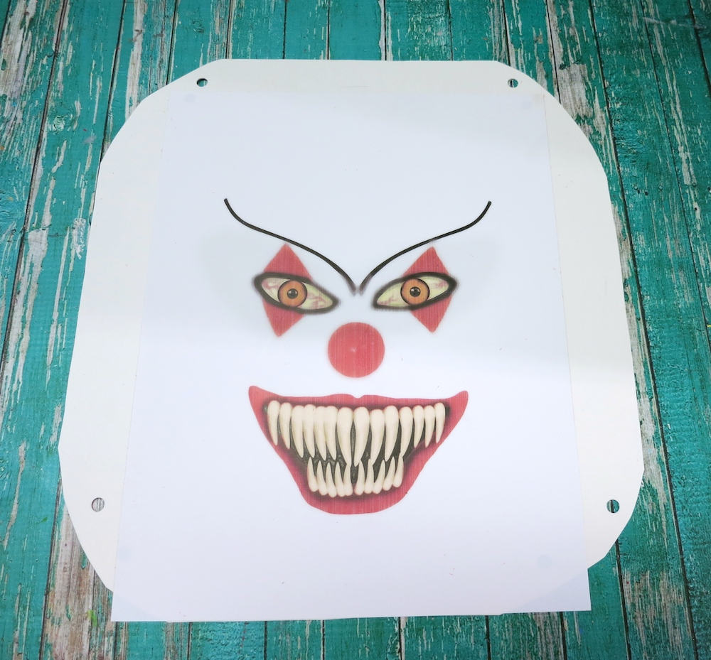 Scary Clown Wreath Inspired By Pennywise Morena S Corner