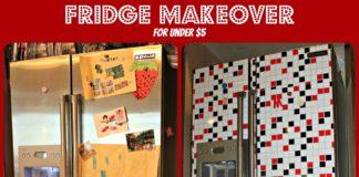 fridge makeover