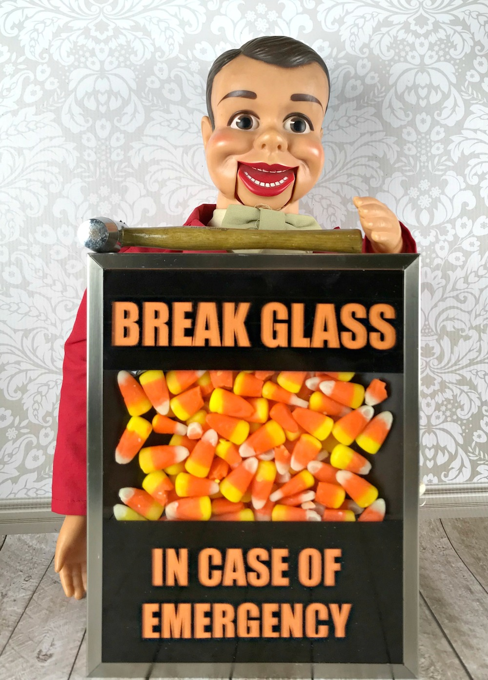 In Case Of Emergency Break Gl Template | Break Glass In Case Of Emergency Candy Decor Morena S Corner