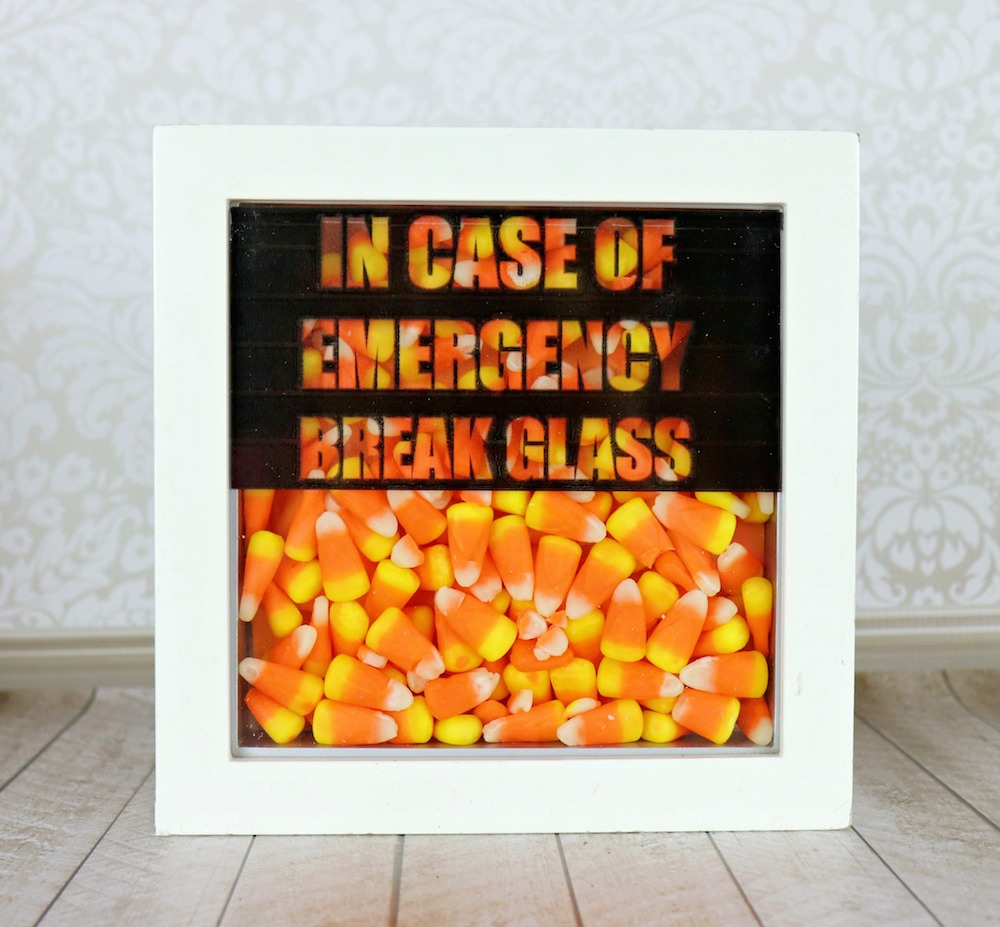 Break Glass In Case Of Emergency Candy Decor Morenas Corner