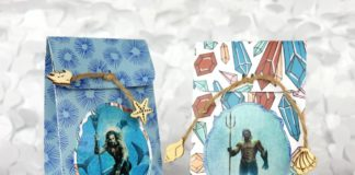 This Aquaman craft is perfect for your movie night girls night out.