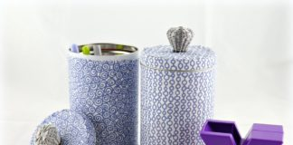 recycled tin storage